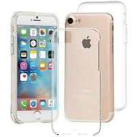 CASE-MATE iPhone 8 7 6S 6 Naked Tough ShockProof Dual Layer Case Cover Clear