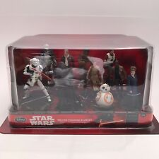 Disney Store Star Wars The Force Awakens Deluxe Figure Play Set Cake Toppers NIB