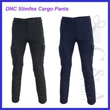 DNC workwear Slimfex Cargo Pants 92% Cotton 3% Elastance Comfort Twill Fabric