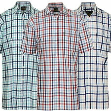 Polycotton Checked Champion Casual Shirts & Tops for Men