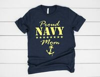Proud Navy Mom - T-shirt