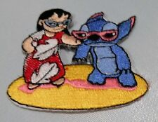 "DISNEY'S LILO AND STITCH SUNGLASSES 2 1/2""  EMBROIDERED PATCH SEWN/IRON ON"