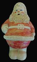 Antique Vtg Chalkware/Plaster Jolly Christmas SANTA CLAUS Figure. MINTY !!