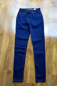 MINI Boden GIRLS Gorgeous INDIGO SLIM skinny elasticated Cotton jeans BRAND NEW