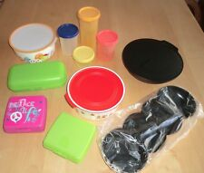 Tupperware Set Allegra Perle Schüssel Quadro Maxi Twin Sandwich Box Eidgenossen