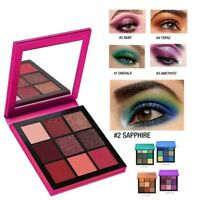 9 Colors Shimmer Glitter Eye Shadow Powder Palette Matte Eyeshadow Makeup New
