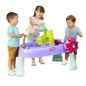 Little Tikes Mermaid Island Wavemaker Water Table with Five Unique Play Stations
