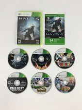 COD Black Ops 2, Dragon Ball Raging Blast 2, Halo 4, & MORE Xbox 360 5x Game Lot