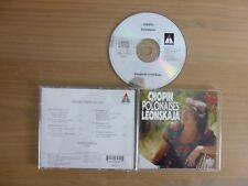 Chopin - Polonaises -  Die Polonaisen - Leonskaja, Teldec, CD