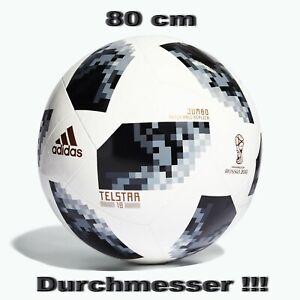 adidas Jumbo Ball Russland FIFA WM 2018 Telstar 80 cm Durchmesser CG1567
