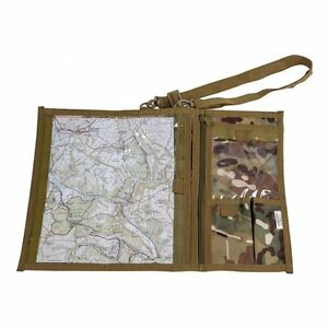 HMTC CAMO WATERPROOF MAP CASE use military hiking pouch bag reading explorer