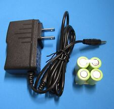 NEW BATTERY PACK + WALL CHARGER / AC ADAPTER for Sartorius Biohit eLine Pipette
