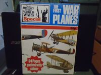 THE FIRST WAR PLANES PURNELLS HISTORY OF THE WORLD WARS SPECIAL BOOK/MAG