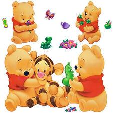 Wall Sticker Decal Winnie The Pooh and Tiger Kids room Nursery Decor DIY
