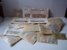 Worldwide stamp lot. Used, some mint - mostly 1960's. Malaya, Singapore, HK, etc