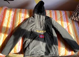 GIUBBINO NAPAPIJRI RAINFOREST WINTER Jacket Autunno Inverno BLACK NERO 041