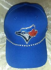 Toronto Blue Jays Womens Rhinestone Bling MLB Baseball Cap Hat ~NEW~