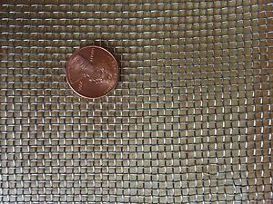 "Stainless Steel Crimped 304 Mesh #2 .063  Cloth Screen 6/""x24/"""