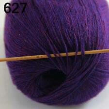 AIP Sale Soft 1 Skein x50gr Pure Cashmere Wrap Shawls Hand DIY Knit Wool Yarn 27