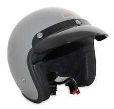 Caschi grigio scooter per la guida di veicoli Uomo