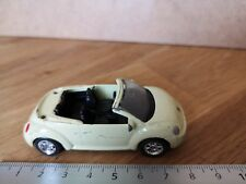 VW NEW BEETLE CONVERTIBLE / VOITURE MINIATURE CAR  WELLY M102