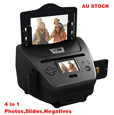 QPIX 4 in 1 FILM SCANNER FOR PHOTOS SLIDES NEGATIVES AND NAME CARDS PS970H