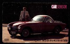 Phone card Japan NTT Cars 110-011 B1 - CAR SENSOR 6582