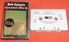 BOB DYLAN - RARE UK CASSETTE TAPE - GREATEST HITS 2 (BEST OF)
