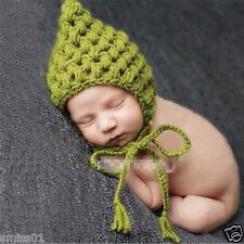 Crochet Newborn Photography Knit Hat Infant Cap Costume Baby Photo Props
