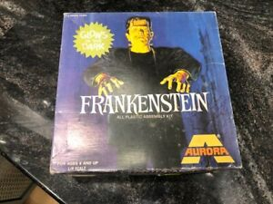 COLLECTORS 1972 FRANKENSTEIN PLASTIC ASSEMBLY KIT 449 UNASSEMBLED