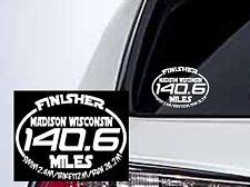 2019 Or Any year Ironman Wisconsintriathlon Finisher Decal Sticker