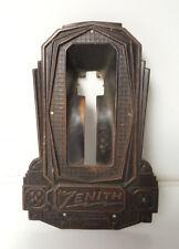 ZENITH RADIO MODEL 77 Console Pressed Copper Escutcheon Face Plate c1930