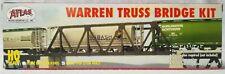ATLAS WARREN TRUSS BRIDGE KIT HO SCALE Code 100 NS Rail