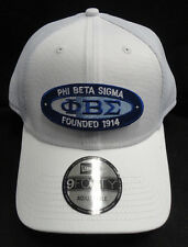 Phi Beta Sigma White New Era NE204 Snap Back with Oval Patch