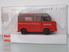 BUSCH 41908 H0 1:87 Citroën H »Zeitschriften-Lieferwagen« NEU in OVP