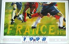 Original poster 1998 World Cup France - Soccer  by Luongo