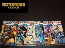 GI Joe Real American Hero 245 246 247 248 249 250 Complete Comic Set Cover B