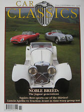 Car Classics 11/1992 No 9 featuring Jaguar, Squire, Lancia Aprilia, Citroen