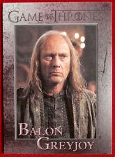 GAME OF THRONES - BALON GREYJOY - Season 3, Card #61 - Rittenhouse 2014