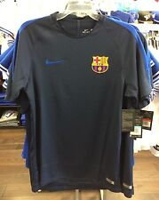 2016-2017 Barcelona Authentic Traing Pre Match Top Jersey Royal Soccer Large