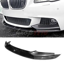 Carbon Fiber Front Bumper Lip Spoiler For 10-16 BMW F10 5Series Upgrade M5 Style