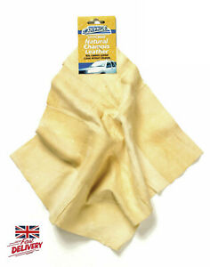 Real Chamois Leather Oil Tanned Cloth Chammy Car Cleaning Washing Drying Towels