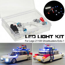 LED Licht Beleuchtung Set Für Lego 21108 Ghostbusters Ecto-1 DIY USB Lighting