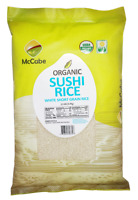 McCabe USDA ORGANIC Sushi Rice, 12-Pound