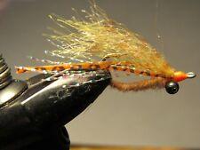 RUSTY Fly Fishing Flies 4QTY BUNKY SHRIMP