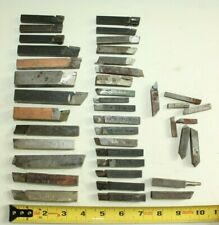 f) Lot of assorted carbide Cutting Bits Lathe Machinist Tooling Metal Working