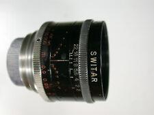 Kern Paillard Switar Objektiv 1.4/50mm No. 540514 c-mount Bolex H16 RX m. SoBl.