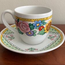 """Mary Engelbreit Cup And Saucer Set """"Bloom Where You're Planted�"""