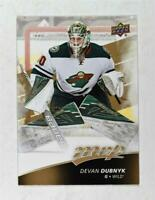 2017-18 Upper Deck MVP Base #81 Devan Dubnyk - Minnesota Wild