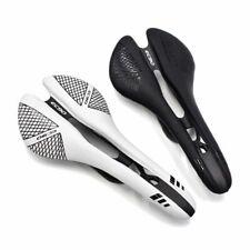 EC90 Carbon Fiber Road Bike Saddle MTB Bicycle Saddle Cushion Saddle+Leather 115